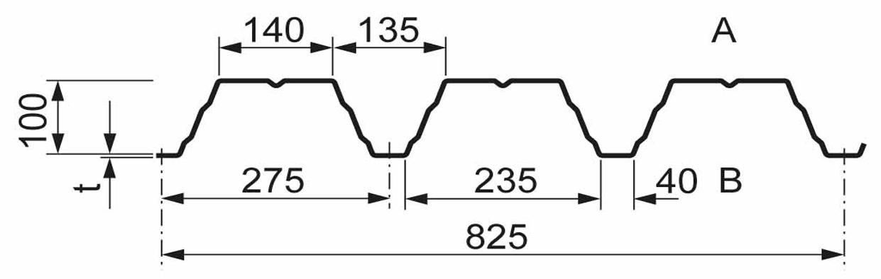 Berühmt Trapezblech Stahl - Profilverkauf Gehrmann BX31