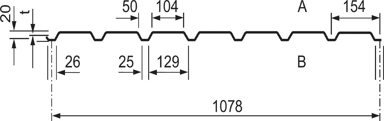 Bekannt Trapezblech Stahl - Profilverkauf Gehrmann XE94