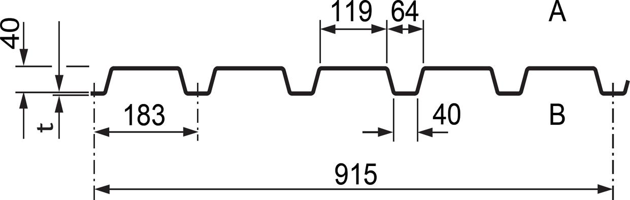 Gut bekannt Trapezblech Stahl - Profilverkauf Gehrmann PW95
