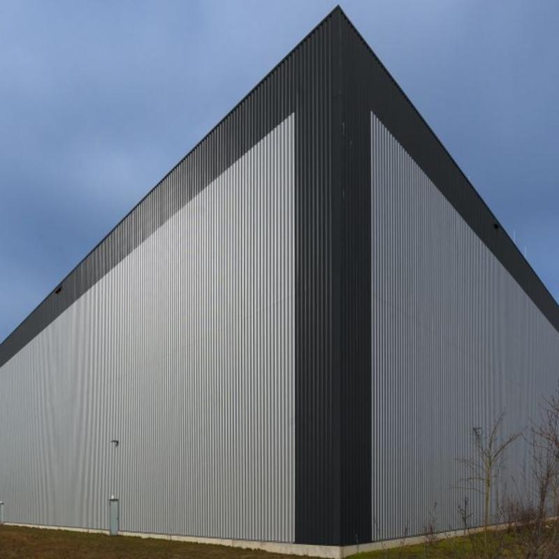 Wellblech Garage: Dach Trapezblech. Great Mnker Modul Trapezblech M Aluzink